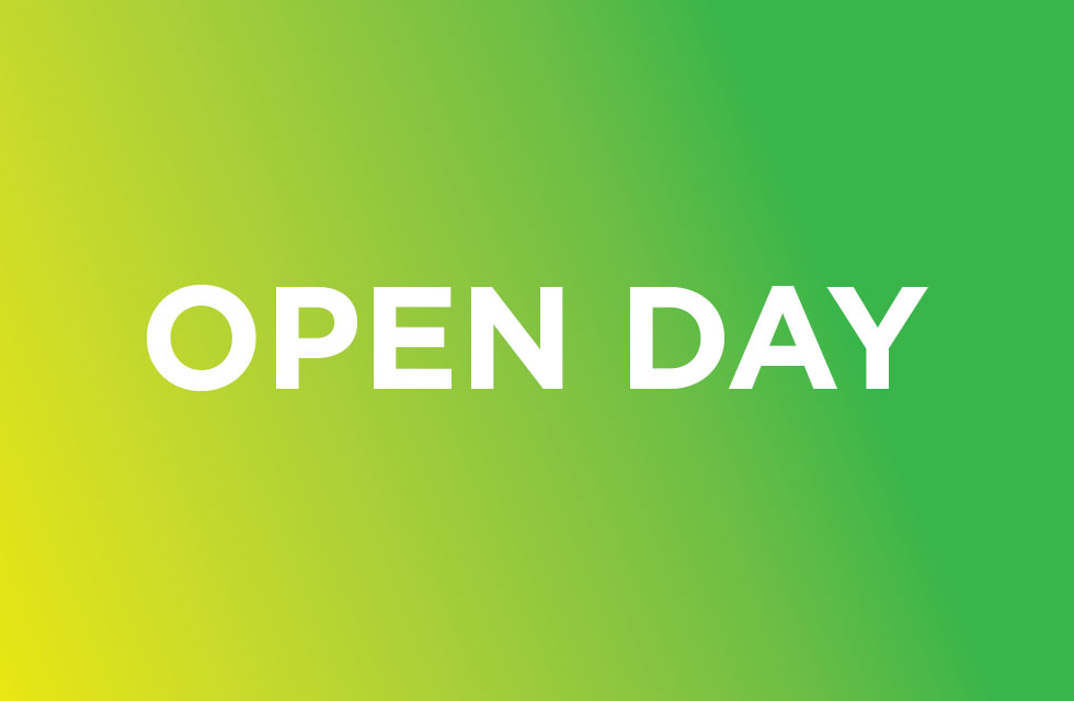Open Day 26th August 2020